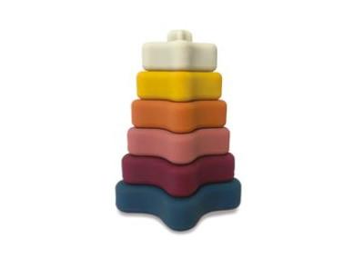 Pyramide à empiler en silicone