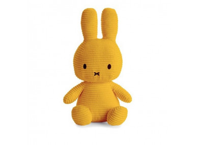 MIFFY 33CM VELOURS MOUTARDE