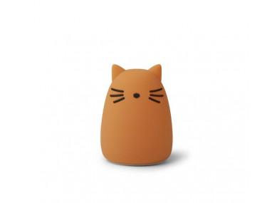 VEILLEUSE WINSTON CAT mustard