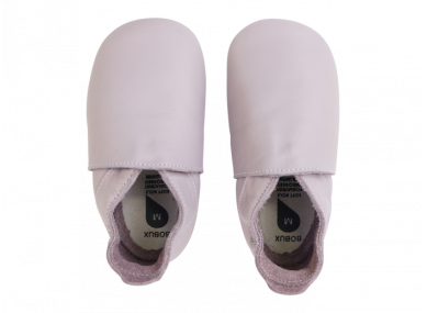 Chaussons soft simple rose