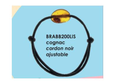 BRACELET ENFANT COGNAC