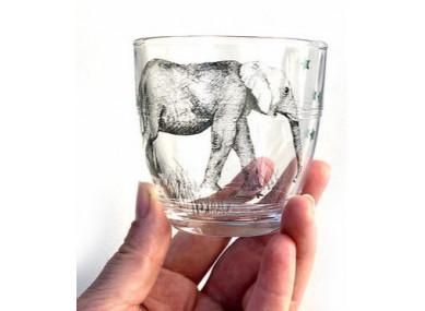 Verre 16CL  Éléphant