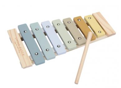 Xylophone en Bois blue
