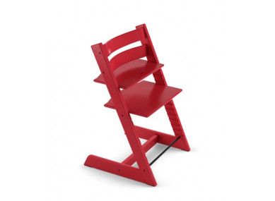 Chaise rouge Tripp Trapp