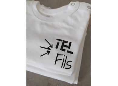 TEE-SHIRT BABY : TEL FILS