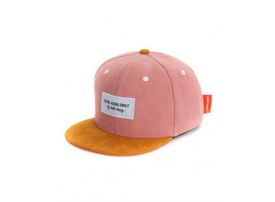 Casquette Daim Old Pink