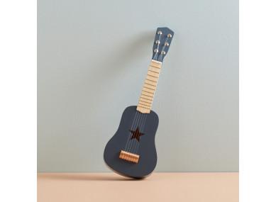 Guitare gris foncé