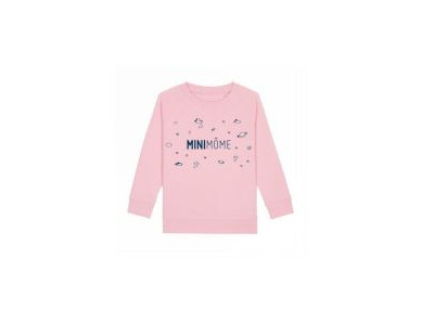 SWEAT MINIMÔME ROSE