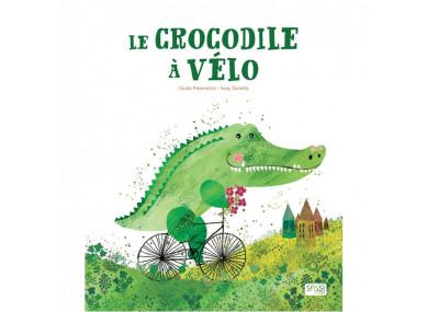 LIVRE : Le crocodile à vélo