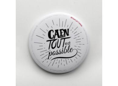 Badge Caen tout est possible