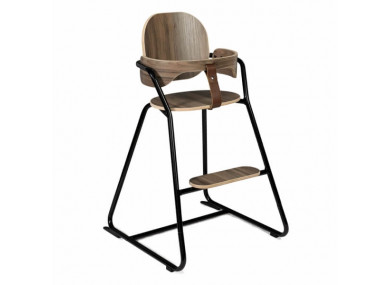 Chaise Haute Tibu Noyer noir