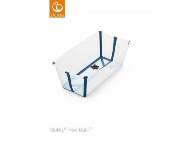 Flexi Bath transparent bleue