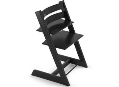 Chaise noire Tripp Trapp