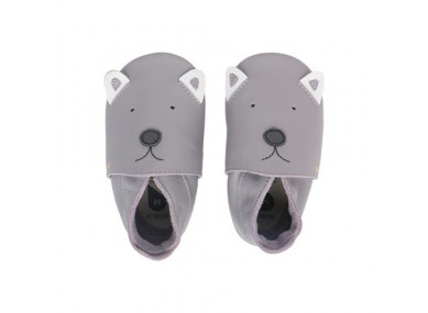 Chaussons Soft Sole Woof Gris
