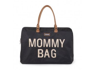 Mommy bag large Black Gold