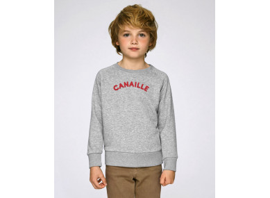 SWEAT CANAILLE GRIS