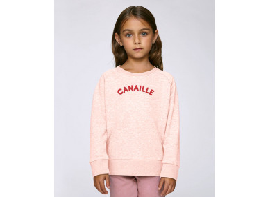 SWEAT CANAILLE ROSE
