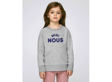 SWEAT MINI NOUS GRIS