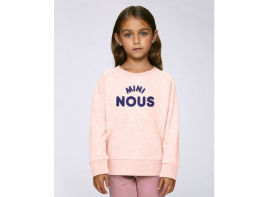 SWEAT MINI NOUS ROSE
