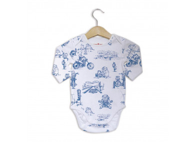 Body manches longues - Blue...