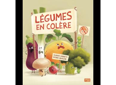 LIVRE : Les légumes en colère