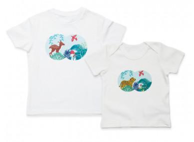 Tee-shirt kids Safari 3-4ans