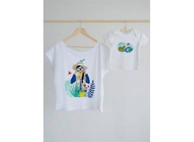 Tee-shirt Maman Safari