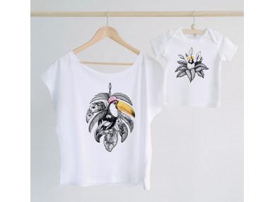 Tee-shirt Maman Toucan