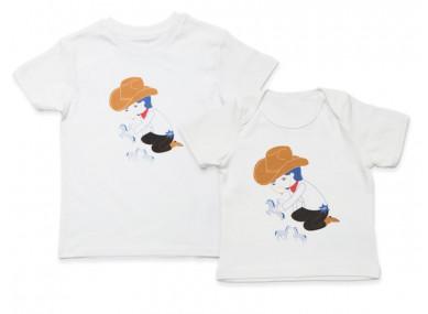 Tee-shirt Papa Cowboy L