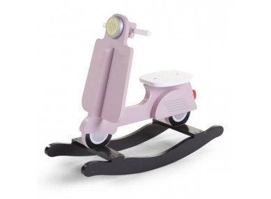SCOOTER A BASCULE ROSE