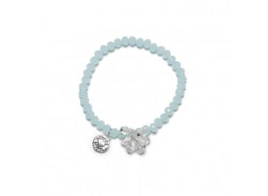 Bracelet bleu avec charm...