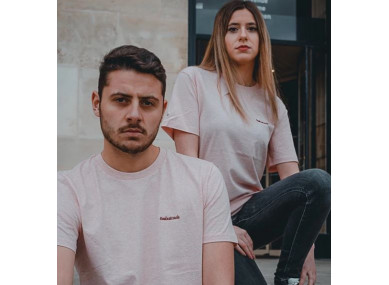 T-shirt Le Devonport Rose