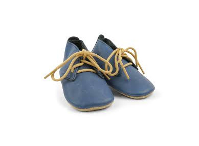 Chaussons Soft Soles Lace Navy