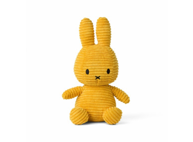 MIFFY 50CM VELOURS MOUTARDE