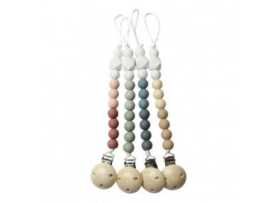 Attache tetine perle...