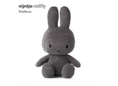 Miffy 70 cm côtelé anthracite