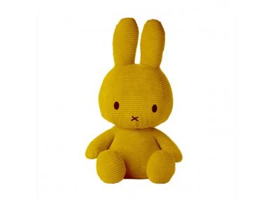 Miffy 70 cm côtelé moutarde