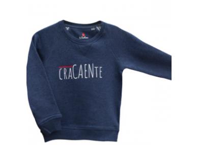 SWEAT CraCAENte Bleu marine
