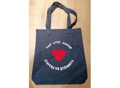 """Tote Bag """"Fait avec Amour"""""""