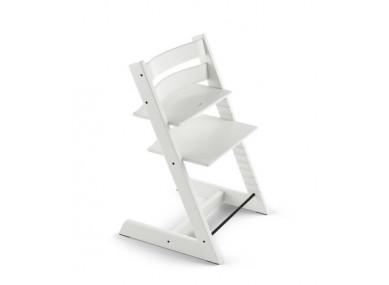 Chaise haute blanche Tripp...