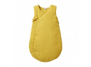 Gigoteuse gaze moutarde -...