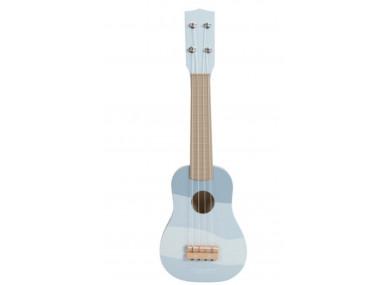 Guitare en Bois Blue