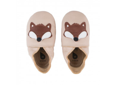 Chaussons Fox beige