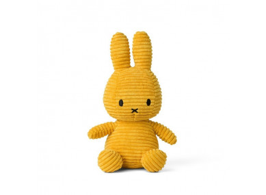 MIFFY 24CM VELOURS MOUTARDE